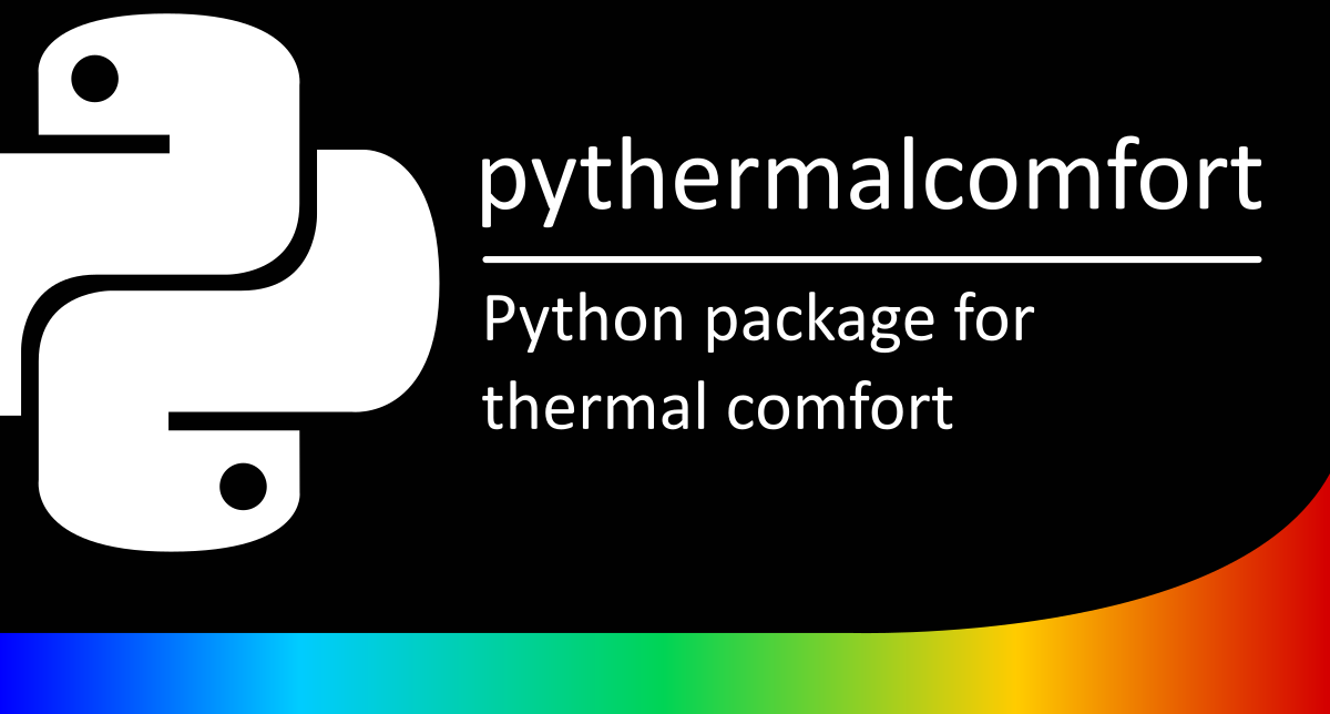 pythermalcomfort: A Thermal Comfort Python Package
