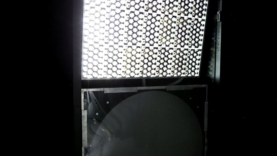 Compact Artificial Sky Light Source
