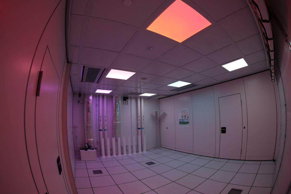 Testbed Room II Lighting Experiment