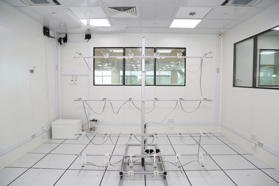 Testbed room IV Thermal Comfort Experiment
