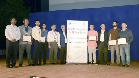 Award ceremony for IEEE EBL competition