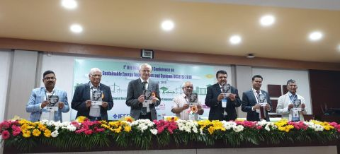The release of ICSETS 2019 conference proceeding during opening ceremony