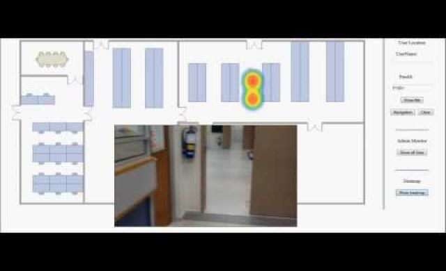 WiFi based Indoor Positioning System with Heatmap Visualization