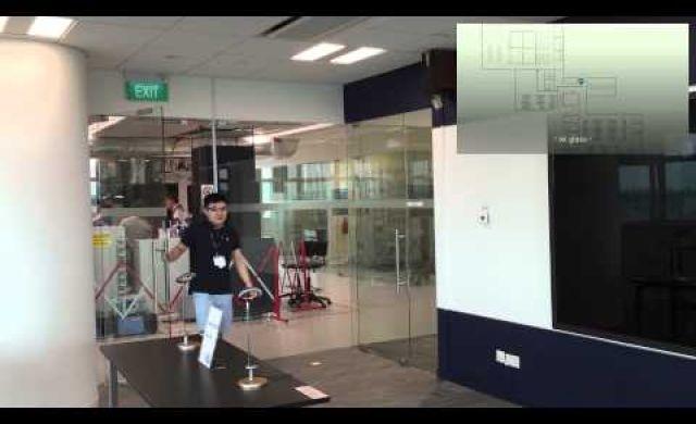 Indoor Navigation on Google Glass