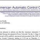 2020 American Automatic Control Council O. Hugo Schuck Best Paper Award